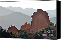 Garden Of The Gods Canvas Prints - Garden of the Gods Canvas Print by Cheryl McClure
