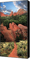 Garden Of The Gods Canvas Prints - Garden of the Gods Canvas Print by Ric Soulen