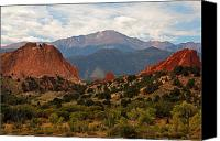 Colorado Mountains Canvas Prints - Garden of the Gods Canvas Print by Robert Pilkington