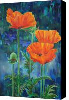 Gardens Canvas Prints - Garden Party Canvas Print by Billie Colson
