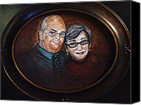Regina Brandt Canvas Prints - Gary and Sue Arnold Canvas Print by Regina Brandt