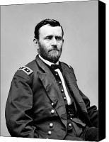 Patriot Photo Canvas Prints - General Grant Canvas Print by War Is Hell Store