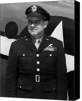 Patriot Photo Canvas Prints - General Jimmy Doolittle Canvas Print by War Is Hell Store