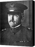 John Pershing Canvas Prints - General John J. Pershing 1860-1948 Canvas Print by Everett