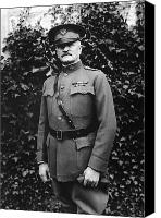 John Pershing Canvas Prints - General John J. Pershing Canvas Print by War Is Hell Store