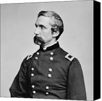 Joshua Canvas Prints - General Joshua Chamberlain  Canvas Print by War Is Hell Store