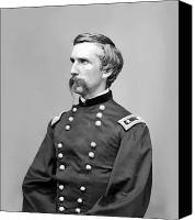 Moh Digital Art Canvas Prints - General Joshua Lawrence Chamberlain Canvas Print by War Is Hell Store