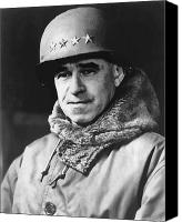 World Leader Canvas Prints - General Omar Bradley Canvas Print by War Is Hell Store