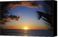 Brandon Tabiolo Canvas Prints - Generic Sunset Canvas Print by Brandon Tabiolo - Printscapes