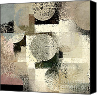 Forms Canvas Prints - Geomix - c133et02b Canvas Print by Variance Collections