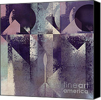 Geometry Canvas Prints - Geomix-04 - c57at22b2e Canvas Print by Variance Collections