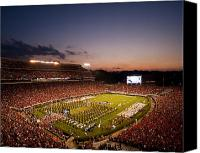 2012 Canvas Prints - Georgia Sunset Over Sanford Stadium Canvas Print by Replay Photos