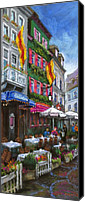 Old Buildings Canvas Prints - Germany Baden-Baden 10 Canvas Print by Yuriy  Shevchuk