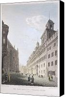 Rathaus Photo Canvas Prints - Germany: Nuremberg, 1822 Canvas Print by Granger