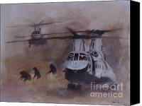 Afghanistan Canvas Prints - Getting Dirty Canvas Print by Stephen Roberson