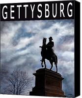 Gettysburg Canvas Prints - Gettysburg... Canvas Print by Will Bullas
