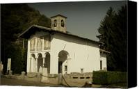 Lago Di Como Canvas Prints - Ghisallo Chapel Canvas Print by Chuck Parsons