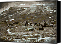 Old Cabins Canvas Prints - Ghost Town Series 1 Canvas Print by Philip Tolok