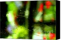 Art Dealer Canvas Prints - Ghostly Glass Canvas Print by Louie Rochon