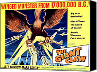 1957 Movies Canvas Prints - Giant Claw, The, 1957 Canvas Print by Everett