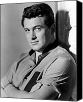 1956 Movies Photo Canvas Prints - Giant, Rock Hudson, 1956 Canvas Print by Everett