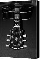 Gibson Guitar Canvas Prints - Gibson Perspective Canvas Print by Lauri Novak