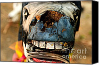 Decaying Canvas Prints - Giddyup Canvas Print by Dean Harte