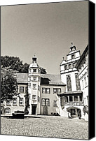 Cobbles Canvas Prints - Gifhorn castle Canvas Print by Benjamin Matthijs
