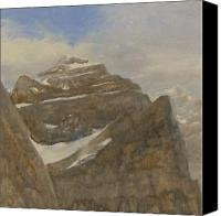 Peaks Canvas Prints - Glacier National Park Canvas Print by Gary Kaemmer