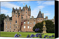 Fantasy Photo Canvas Prints - Glamis Castle Canvas Print by Jason Politte