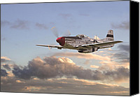 P51 Mustang Canvas Prints - Glamorous Gal Canvas Print by Pat Speirs