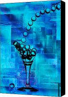 Glass Pyrography Canvas Prints - Glass Balls Canvas Print by Mauro Celotti