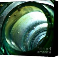Sari Canvas Prints - Glass Bubbles Canvas Print by Sari Sauls
