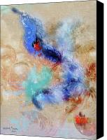 Monroe Mixed Media Canvas Prints - GlassBubble Canvas Print by Monroe Snook