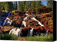 Sierra Canvas Prints - Glen Alpine Falls Canvas Print by Scott McGuire