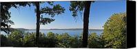 Inspiration Point Canvas Prints - Glen Lake from inspiration Point Canvas Print by Twenty Two North Gallery