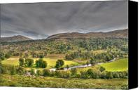 Lyon Canvas Prints - Glen Lyon Scotland Canvas Print by Chris Thaxter