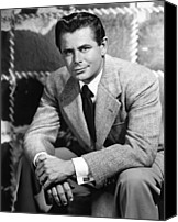 1950s Fashion Canvas Prints - Glenn Ford, Paramount Pictures, 1950 Canvas Print by Everett