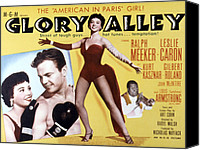 Fid Canvas Prints - Glory Alley, Leslie Caron, Ralph Canvas Print by Everett