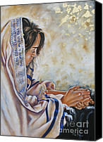 Ilse Kleyn Painting Canvas Prints - Glory in His Name Canvas Print by Ilse Kleyn