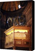 Byzantine Canvas Prints - Glowing in the Sophia Canvas Print by John Rizzuto