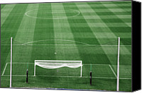  Goal Canvas Prints - Goal Canvas Print by Albert Mollon