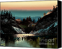 Arne J Hansen Canvas Prints - Going Home Canvas Print by Arne Hansen
