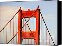 Engineering Canvas Prints - Golden Gate Bridge - Nothing equals its majesty Canvas Print by Christine Till