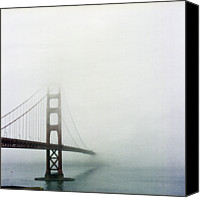 San Francisco Photo Canvas Prints - Golden Gate Bridge, San Francisco, California Canvas Print by Tuan Tran