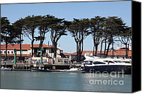 Yachts Canvas Prints - Golden Gate Yacht Club At The San Francisco Marina - 5D18265 Canvas Print by Wingsdomain Art and Photography