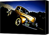 D700 Photo Canvas Prints - Golden V8 Canvas Print by Phil