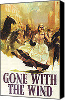 Gable Canvas Prints - Gone With The Wind Canvas Print by Nomad Art and  Design