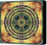 Rainbow Tapestries Textiles Canvas Prints - Good Fortune Canvas Print by Bell And Todd