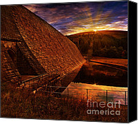 Featured Photo Canvas Prints - Good Morning Derwent Canvas Print by Nigel Hatton